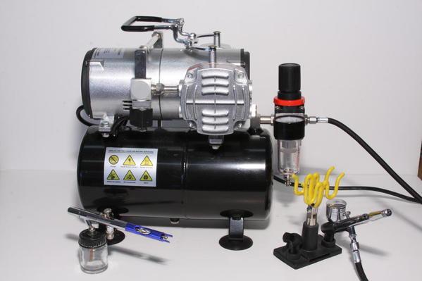 Compressor & Air Brishes