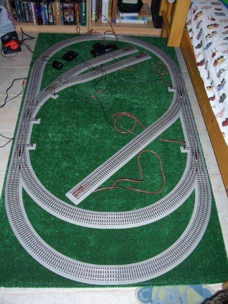 Simple 4x8 Track Plan O Gauge Railroading On Line Forum