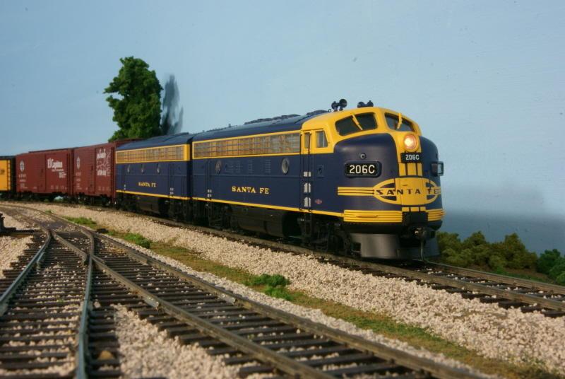 Santa Fe Yellow Bonnet F3s O Gauge Railroading On Line Forum