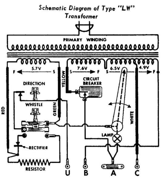 LWSchematic lionel 1033 wiring diagram lionel download wirning diagrams lionel type 1033 transformer wiring diagram at bakdesigns.co