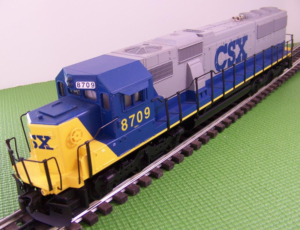 Vintage MTH Premier CSX SD60 | O Gauge Railroading On Line Forum