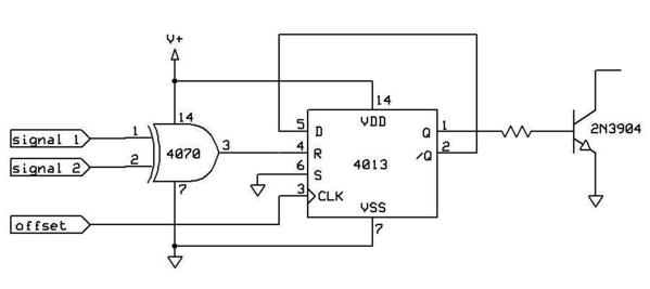 need help with logic circuit to act as switch