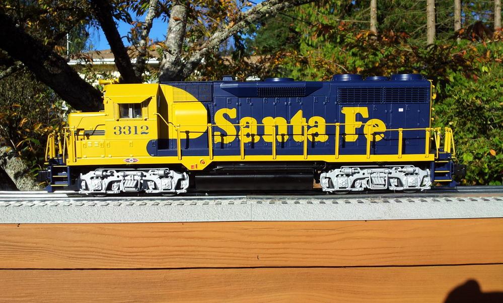 Presenting Lionel Santa Fe Gp35 W Pictures O Gauge