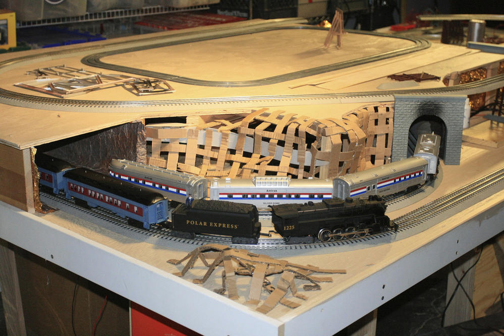 4x8 Layout O Gauge Railroading On Line Forum