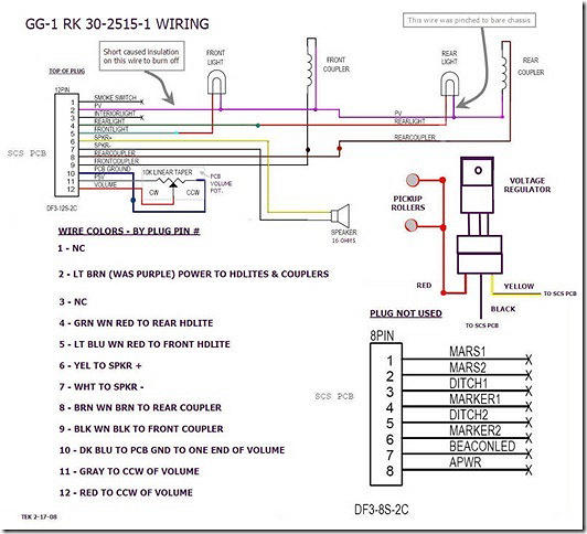 MTH PS 2 %285V%29 Schematic GG 1 %28edit%29 ps2 upgrade issues o gauge railroading on line forum western plows wiring diagram unimount 9 pin at cos-gaming.co