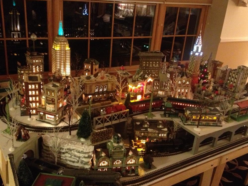 2013 christmas photo album o gauge railroading on line forum for Christmas layout ideas