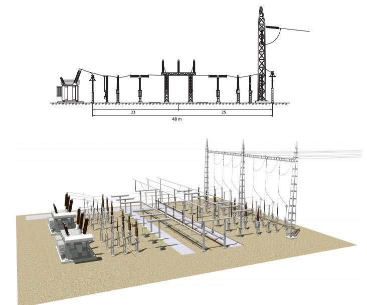 Substation project o gauge railroading on line forum for Substation design pdf