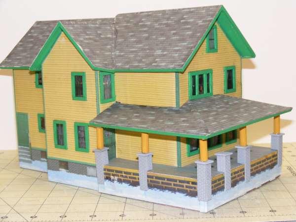 A Christmas Story Paper House O Gauge Railroading On