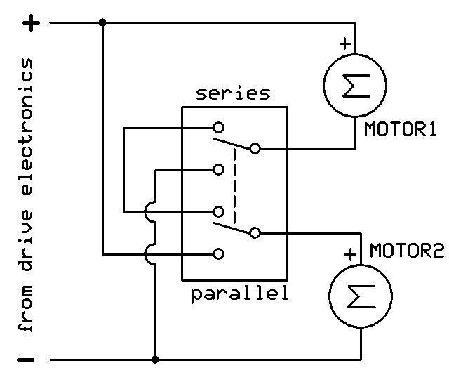 does series wiring cut the volts but not amps