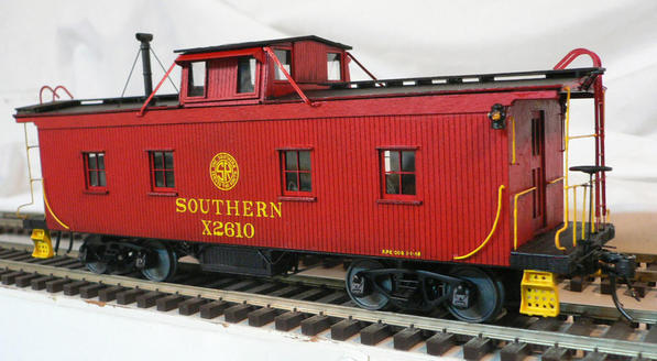 Mullet River Southern Railway Caboose