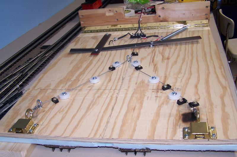 Homemade Lift Lever For Gate : Drop lift gate bridge o gauge railroading on line forum