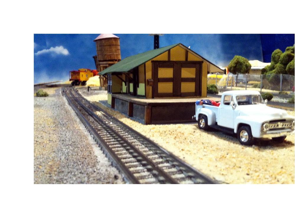 Sp Freight Depot O Gauge Railroading On Line Forum