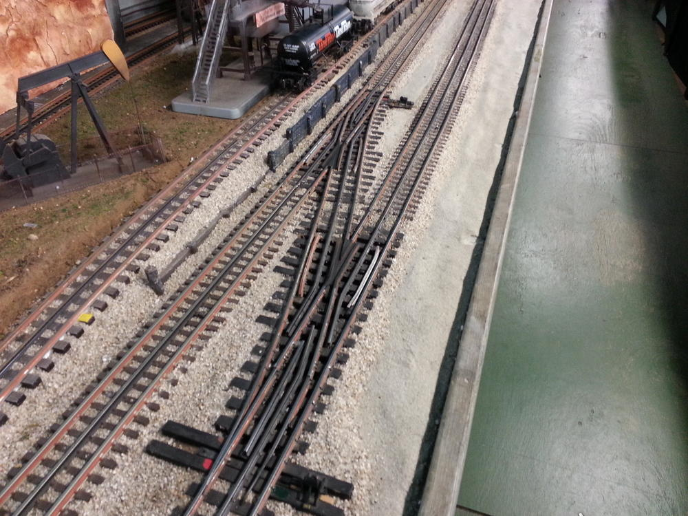 Atlas O 21st Century Track With Ross Switches O Gauge
