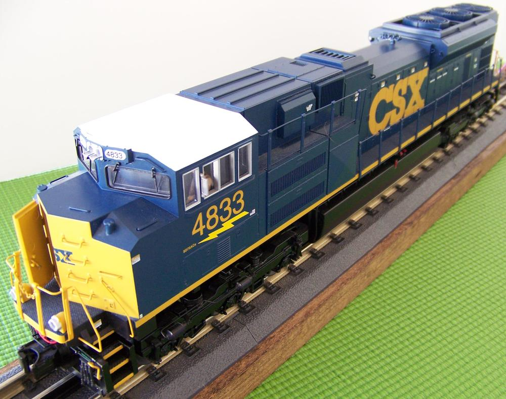 Modeling CSX (C&O/B&O/Chessie) equipment  | O Gauge