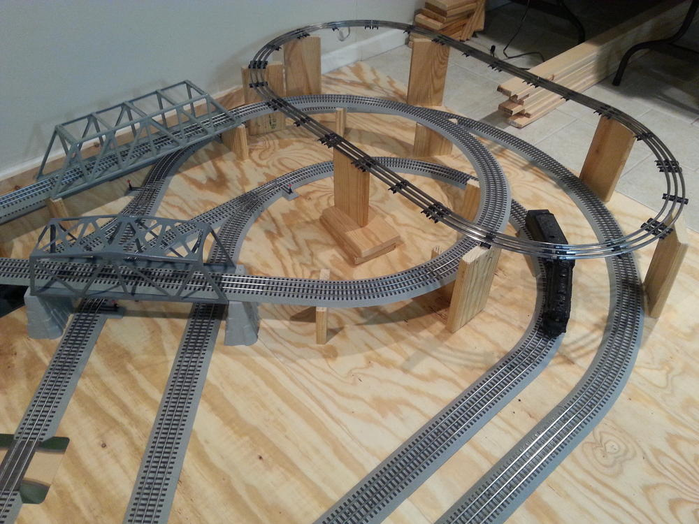 Lionel Dealer Display Mountain Tunnel Construction O