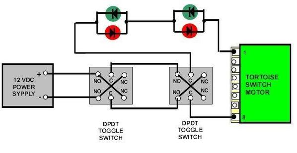 Tortoise And Steering Diodes