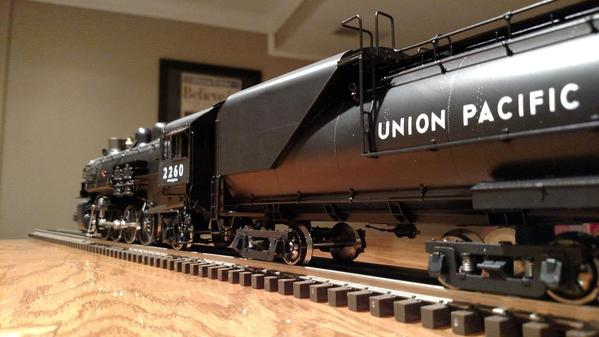 3rd Rail Union Pacific 2-8-2