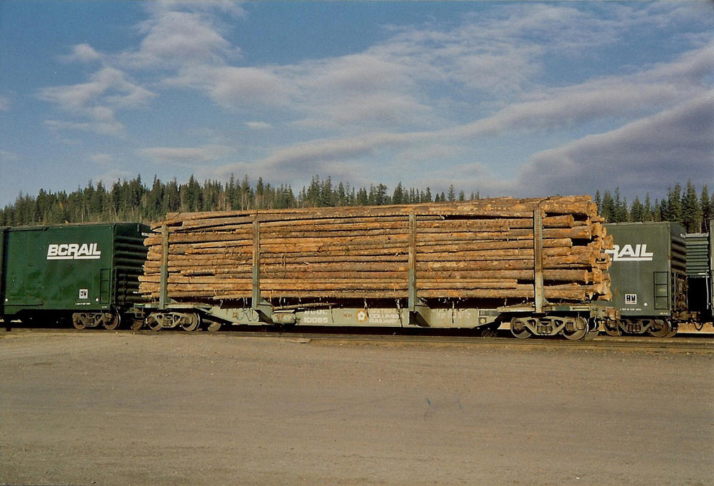Three Log Load ~ If you have logging or a sawmill on your layout o