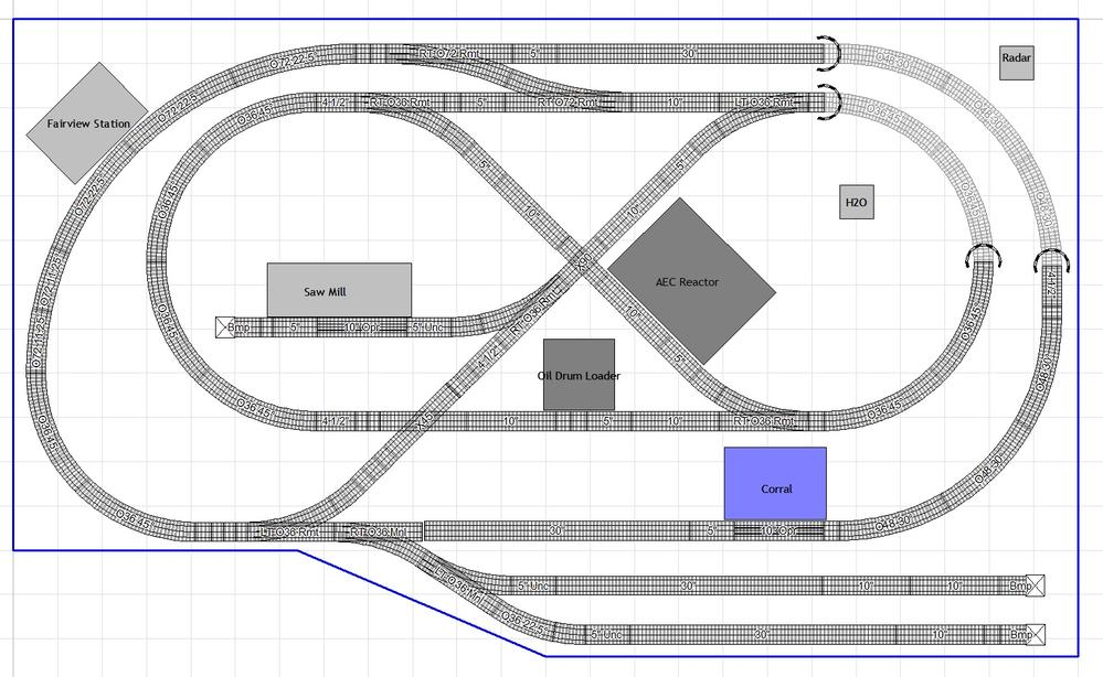 5x10 conventional layout wiring advice O Gauge