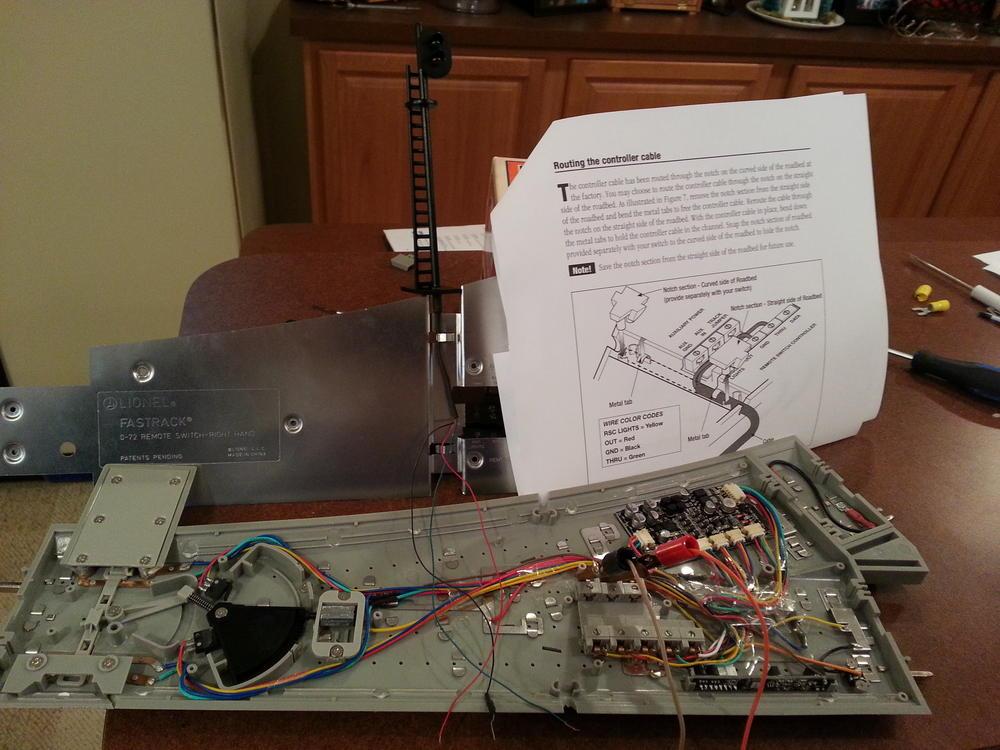 lionel 153 block signal wiring lionel train track wiring