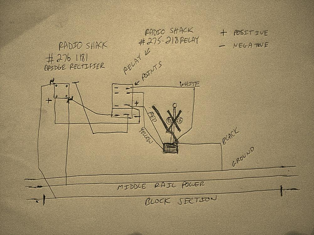How To Wire Mth Crossing Signals W Gates O Gauge