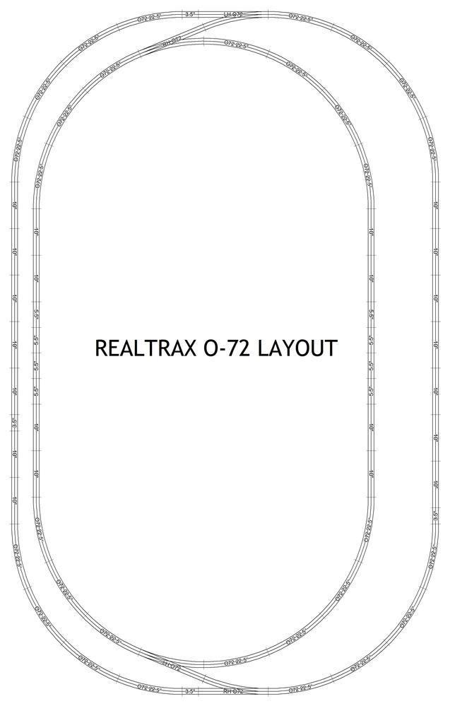 MTH REALTRAX O-72
