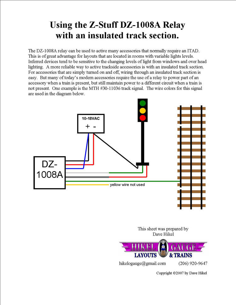 Working Signals And Accessories