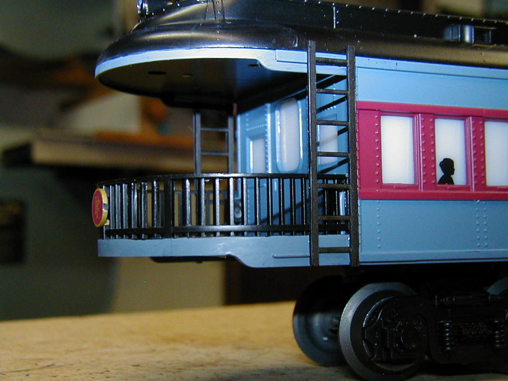 Polar Express Observation Car Rework O Gauge Railroading