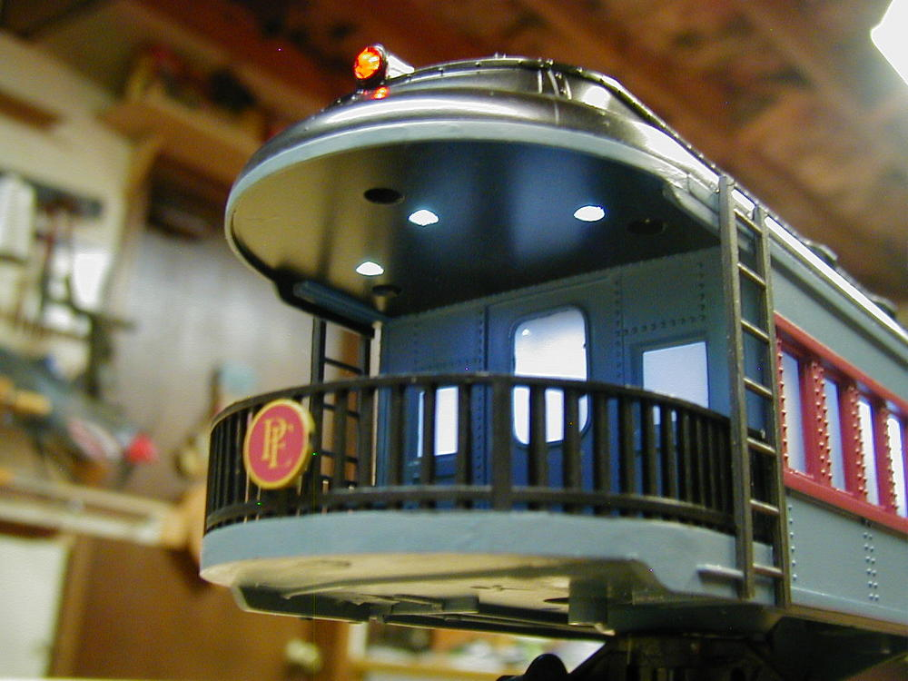 Polar Express Observation Car Rework O Gauge Railroading On Line