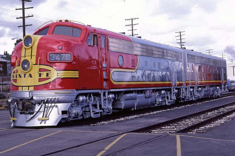 Santa Fe Warbonnet Scheme O Gauge Railroading On Line Forum