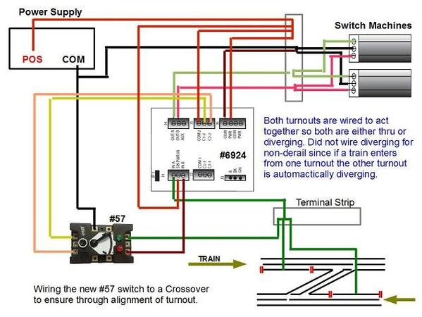 Wiring #57 to #6924