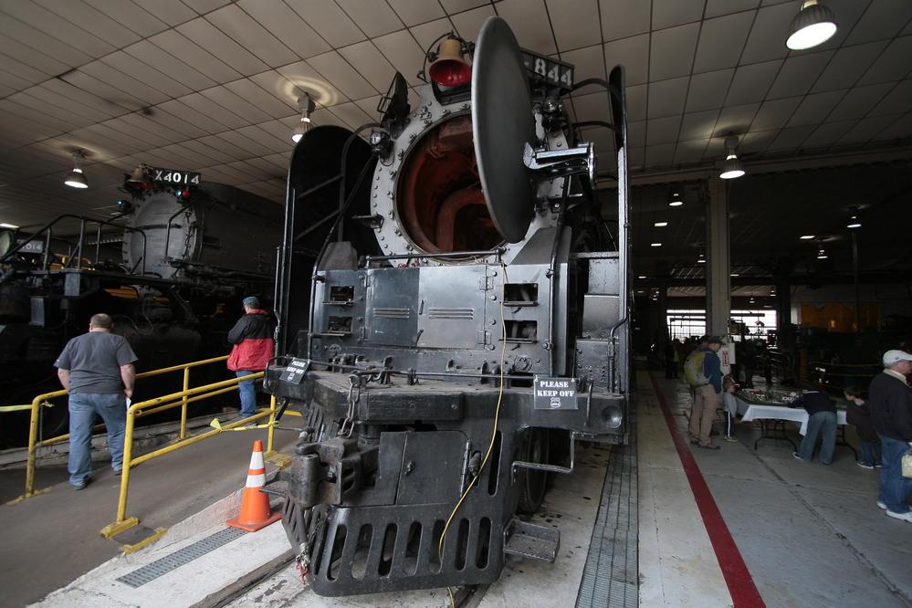 Up4014 At Cheyenne Depot Days 5 17 2014 O Gauge
