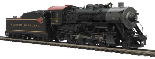 2 8 0 Consolidation Type Locomotives: MTH Uncataloged 2-8-0 H-9 Consolidation Steam Engine W