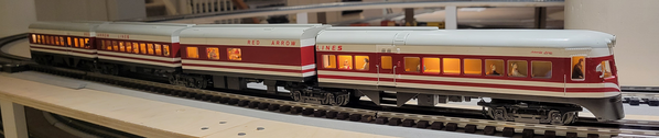 MTH 20-2784-1 Red Arrow Liberty Liner N1