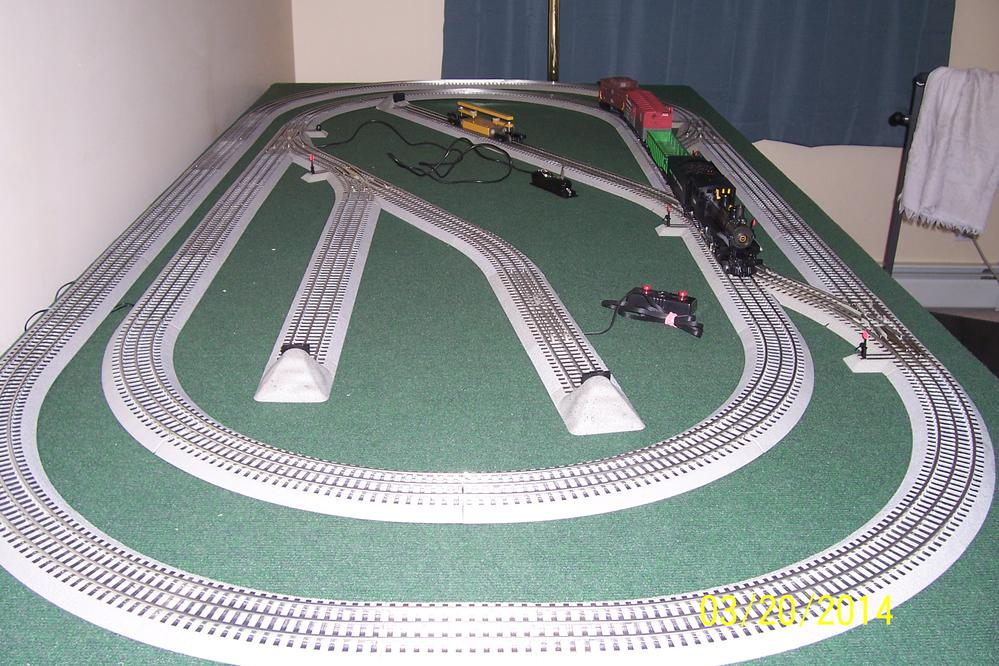 Want To Expand My 4 X 8 Layout O Gauge Railroading On