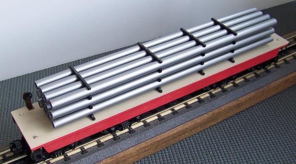 Load Indicator Pipe Hanger : Custom designed axle crane tender for american o