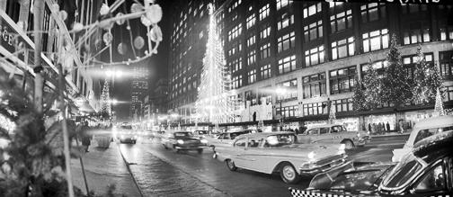 Hudson's in Detroit 1950's