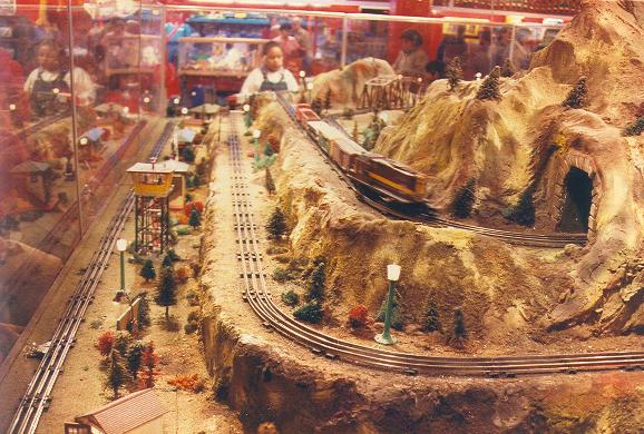 Reply To Quot Vintage Department Store Toy Train Memories Quot O