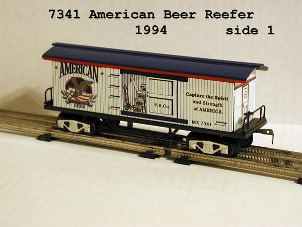 7341 American Beer Reefer side 1