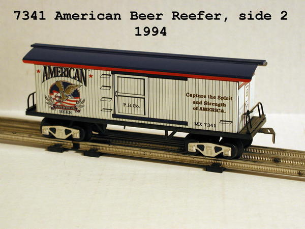 7341 American Beer Reefer side 2