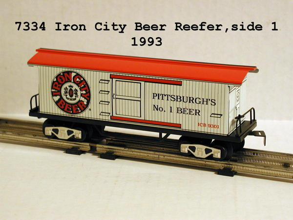7334 Iron City Beer side 1