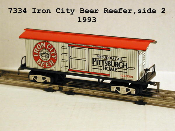 7334 Iron City Beer side 2