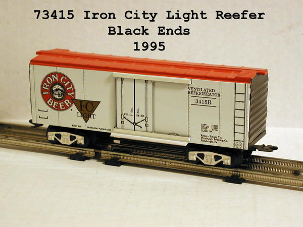 73415 Iron City Light, Black Ends