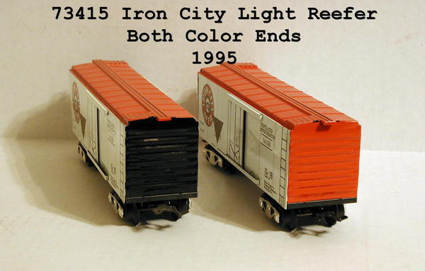 73415 Iron City Light, Red & Black Ends