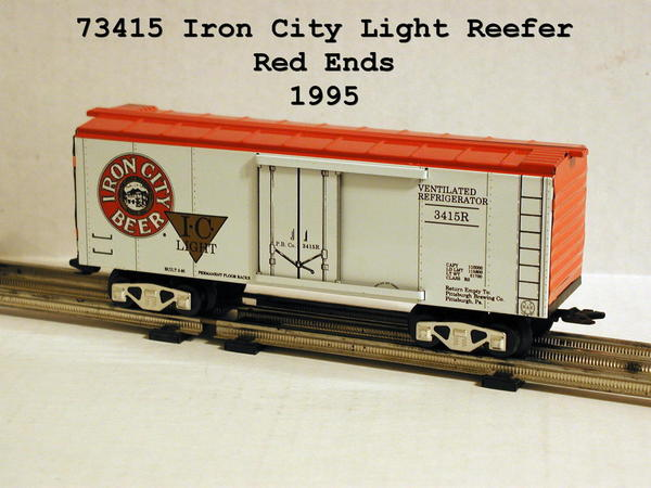 73415 Iron City Light, Red Ends