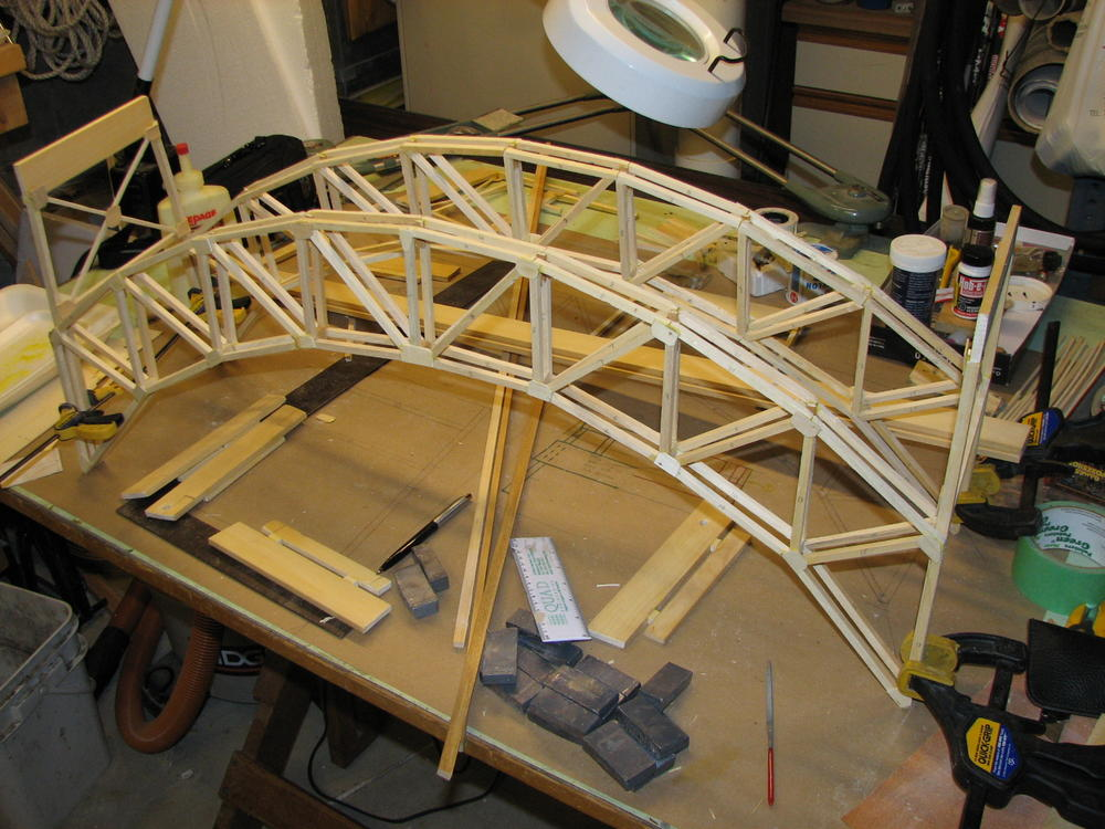 How To Scratch Build A Bridge O Gauge Railroading On