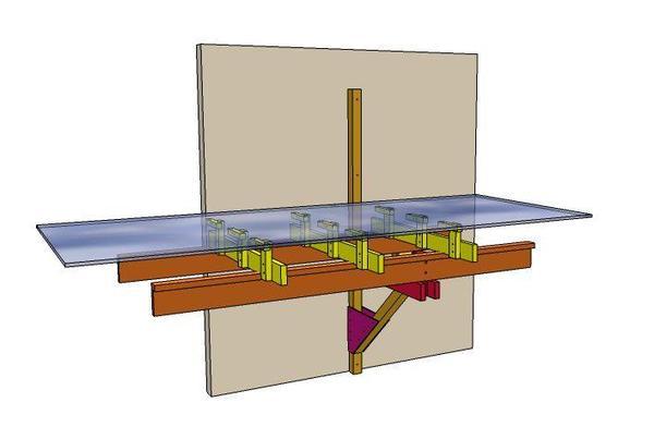 L-girder Wall Support