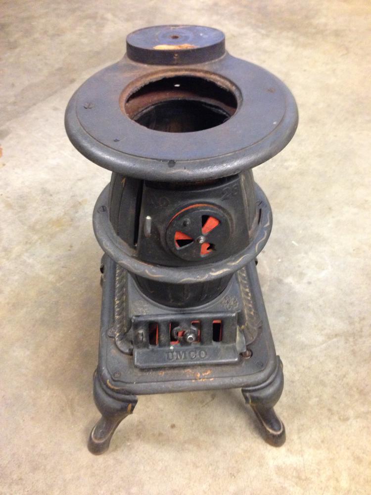 Umco Cast Iron Potbelly Stove O Gauge Railroading On