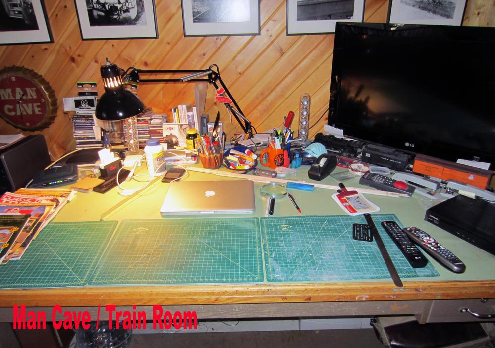Man Cave Train Room : Messy work bench o gauge railroading on line forum