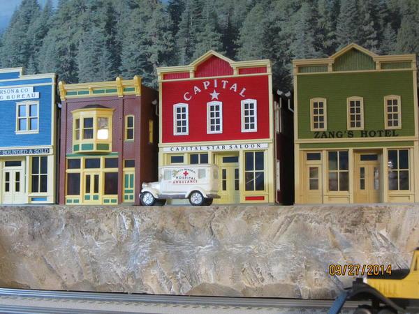 Painting foam board mountains | O Gauge Railroading On Line